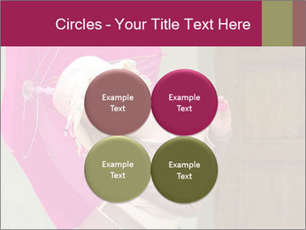 Girl With Pink Umbrella PowerPoint Template - Slide 38