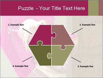 Girl With Pink Umbrella PowerPoint Template - Slide 40