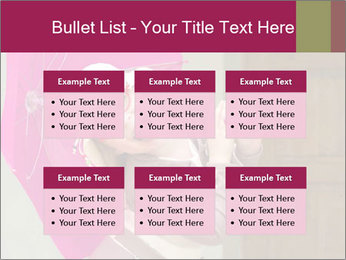 Girl With Pink Umbrella PowerPoint Template - Slide 56