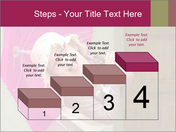Girl With Pink Umbrella PowerPoint Template - Slide 64