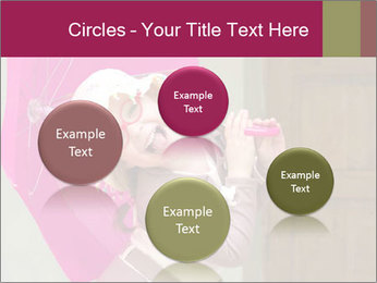 Girl With Pink Umbrella PowerPoint Templates - Slide 77