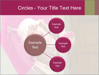 Girl With Pink Umbrella PowerPoint Template - Slide 79
