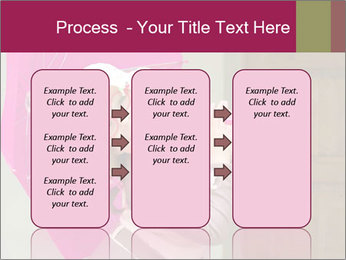 Girl With Pink Umbrella PowerPoint Templates - Slide 86