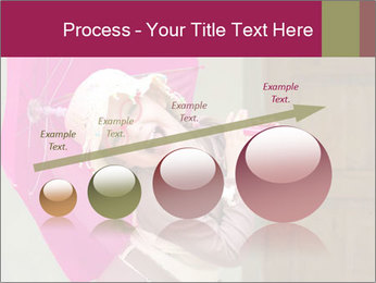 Girl With Pink Umbrella PowerPoint Templates - Slide 87
