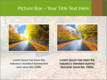 Car In Autumn Countryside PowerPoint Template - Slide 18