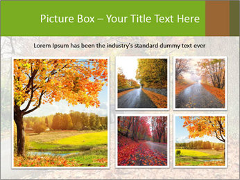 Car In Autumn Countryside PowerPoint Template - Slide 19