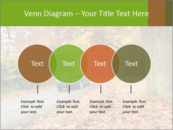 Car In Autumn Countryside PowerPoint Template - Slide 32