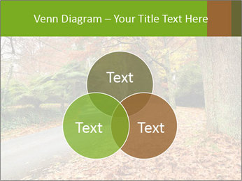 Car In Autumn Countryside PowerPoint Template - Slide 33