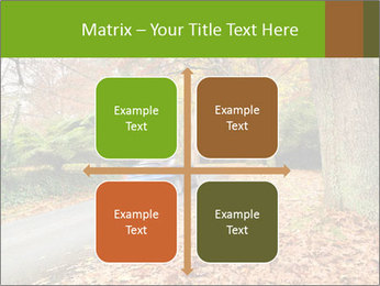 Car In Autumn Countryside PowerPoint Template - Slide 37