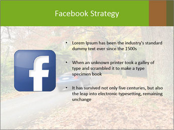 Car In Autumn Countryside PowerPoint Template - Slide 6