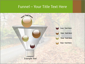 Car In Autumn Countryside PowerPoint Template - Slide 63