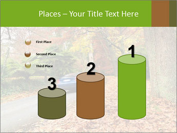 Car In Autumn Countryside PowerPoint Templates - Slide 65