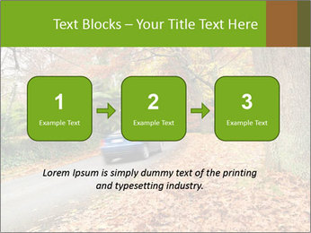 Car In Autumn Countryside PowerPoint Template - Slide 71