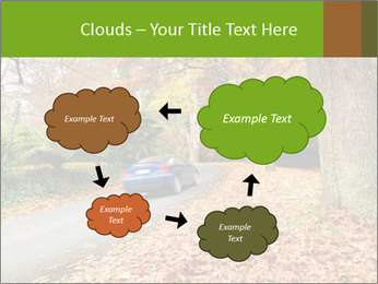 Car In Autumn Countryside PowerPoint Template - Slide 72