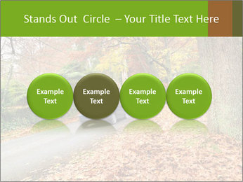 Car In Autumn Countryside PowerPoint Template - Slide 76