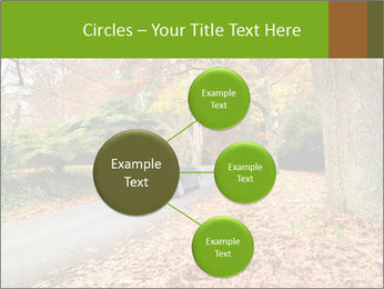 Car In Autumn Countryside PowerPoint Templates - Slide 79