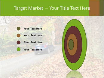 Car In Autumn Countryside PowerPoint Template - Slide 84