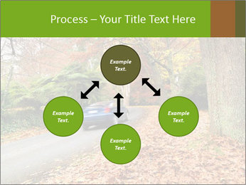 Car In Autumn Countryside PowerPoint Template - Slide 91