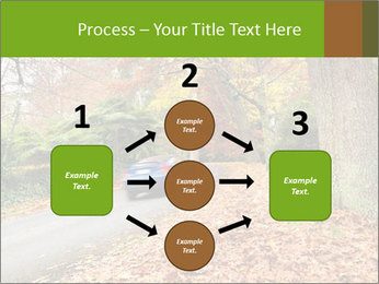 Car In Autumn Countryside PowerPoint Template - Slide 92