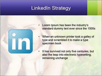 Blooming Woman PowerPoint Template - Slide 12