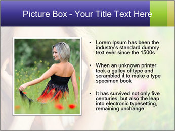 Blooming Woman PowerPoint Templates - Slide 13