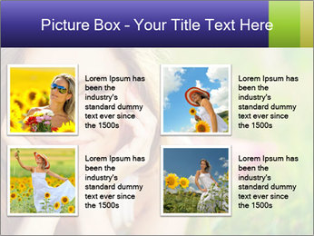 Blooming Woman PowerPoint Templates - Slide 14