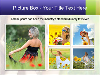 Blooming Woman PowerPoint Templates - Slide 19