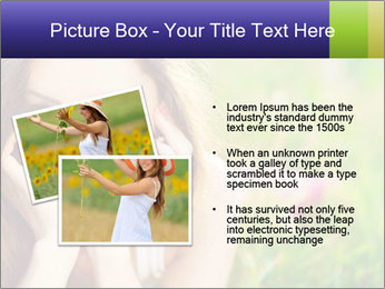 Blooming Woman PowerPoint Templates - Slide 20