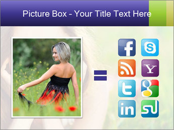 Blooming Woman PowerPoint Templates - Slide 21