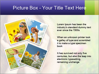 Blooming Woman PowerPoint Templates - Slide 23
