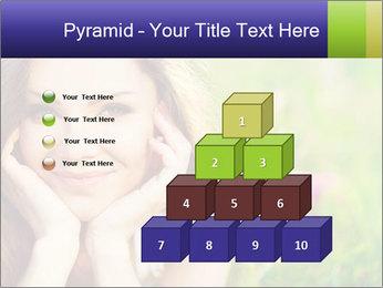 Blooming Woman PowerPoint Template - Slide 31