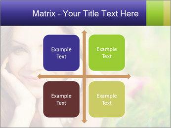 Blooming Woman PowerPoint Template - Slide 37