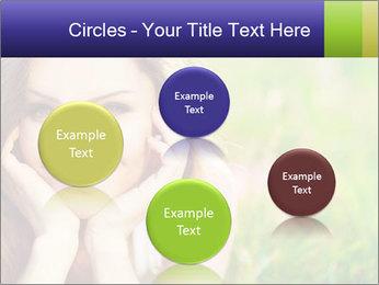 Blooming Woman PowerPoint Template - Slide 77