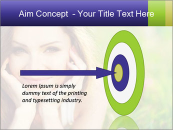 Blooming Woman PowerPoint Templates - Slide 83