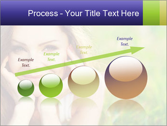 Blooming Woman PowerPoint Templates - Slide 87