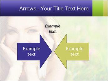 Blooming Woman PowerPoint Template - Slide 90