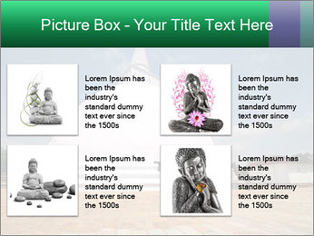 Sacred Buddhist Temple PowerPoint Template - Slide 14