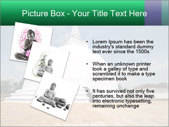 Sacred Buddhist Temple PowerPoint Template - Slide 17