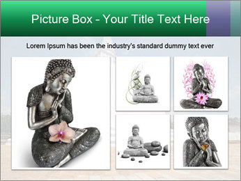 Sacred Buddhist Temple PowerPoint Template - Slide 19