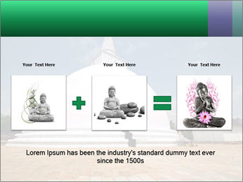 Sacred Buddhist Temple PowerPoint Template - Slide 22
