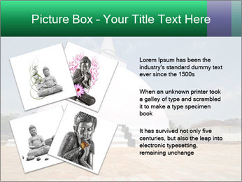 Sacred Buddhist Temple PowerPoint Template - Slide 23