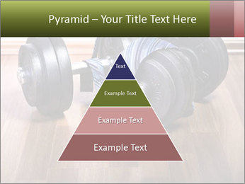 Two Barbells And Blue Tie PowerPoint Template - Slide 30