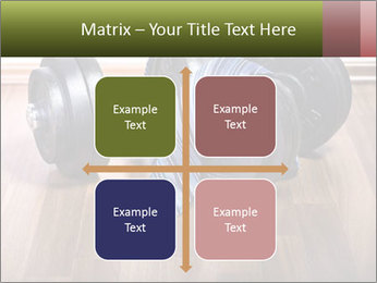Two Barbells And Blue Tie PowerPoint Template - Slide 37