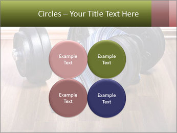 Two Barbells And Blue Tie PowerPoint Template - Slide 38