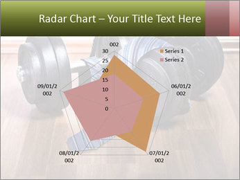 Two Barbells And Blue Tie PowerPoint Template - Slide 51