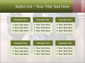 Two Barbells And Blue Tie PowerPoint Template - Slide 56