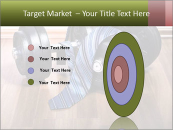 Two Barbells And Blue Tie PowerPoint Template - Slide 84