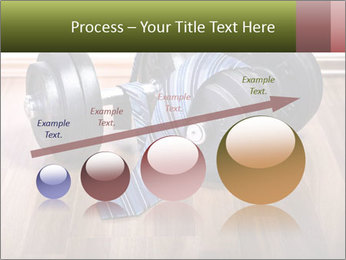 Two Barbells And Blue Tie PowerPoint Template - Slide 87
