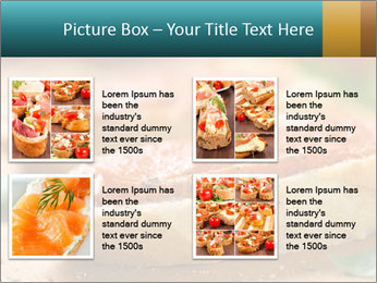 Bread With Tomato Topping PowerPoint Templates - Slide 14
