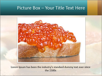 Bread With Tomato Topping PowerPoint Template - Slide 15